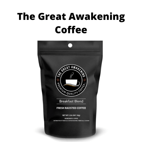 Coffee - The Great Awakening Coffee